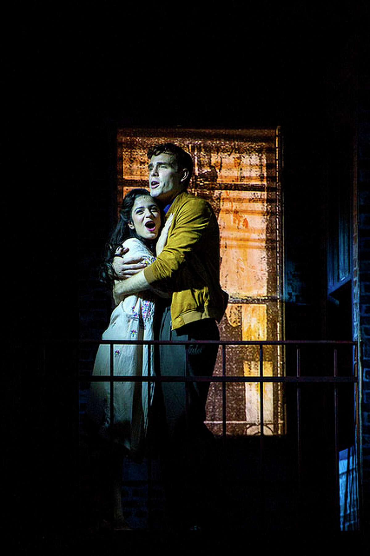 """A scene from Barrington Stage Company's production of """"West Side Story."""""""