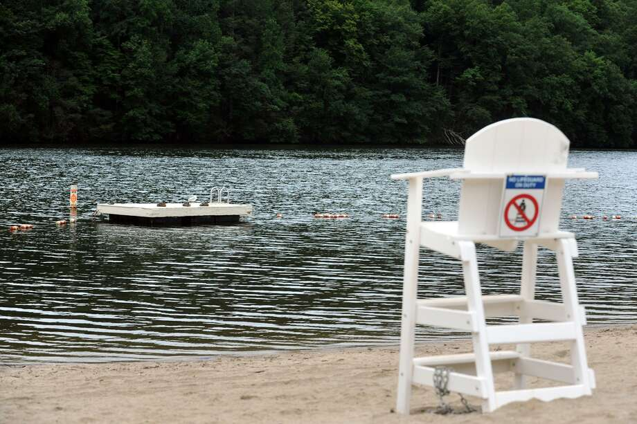 FILE PHOTO — The beach and swimming area at Jackson Cove, on Lake Zoar in Oxford, Conn., July 26th, 2013. Photo: Hearst Connecticut Media / Ned Gerard / Connecticut Post