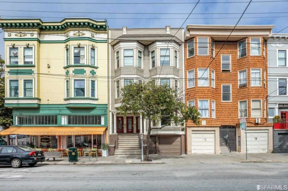 A classic three-bedroom Edwardian condo in the heart of San Francisco's Cole Valley neighborhood is listed for $1.395 million.