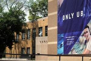 The University of Bridgeport campus, in Bridgeport, Conn. Aug. 6, 2018.