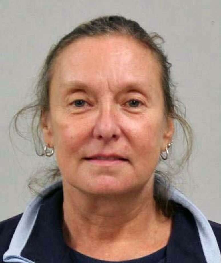 Karen Backus, 55, of Trumbull, Conn., was charged with criminal violation of a protective order. Photo: Contributed Photo / Westport Police Department / Contributed Photo / Connecticut Post Contributed