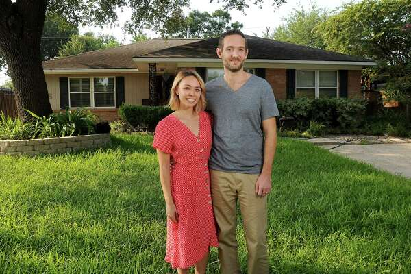 Erica and Chris Dunbar opened their home to the family of one of Erica's students after Harvey.