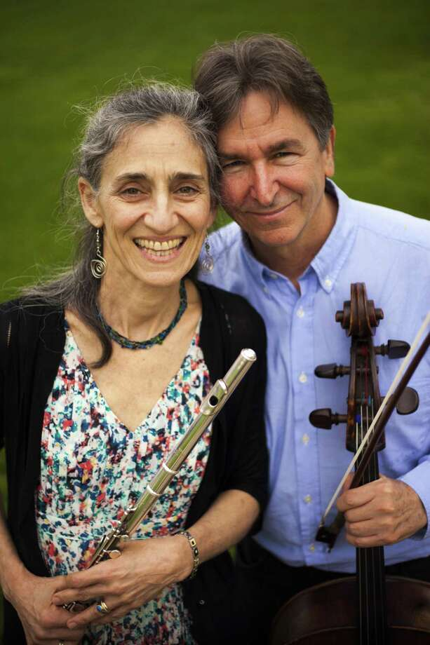 The Sherman Chamber Ensemble, under the artistic direction of Eliot Bailen, will offer a variety of summer concert series, as well as special programs, in the coming weeks. J Susan Rotholz, above, will join Bailen, right, and others for several of the concerts. Photo: Courtesy Of Sherman Chamber Ensemble / The News-Times Contributed