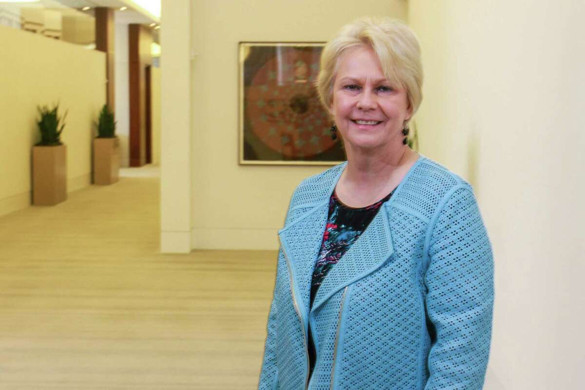 Occidental Petroleum CEO Vicki Hollub. Oxy plans to sell its Wyoming land grant assets to Orion Mine Finance for around $1.3 billion, a boon for the debt-addled Houston independent.