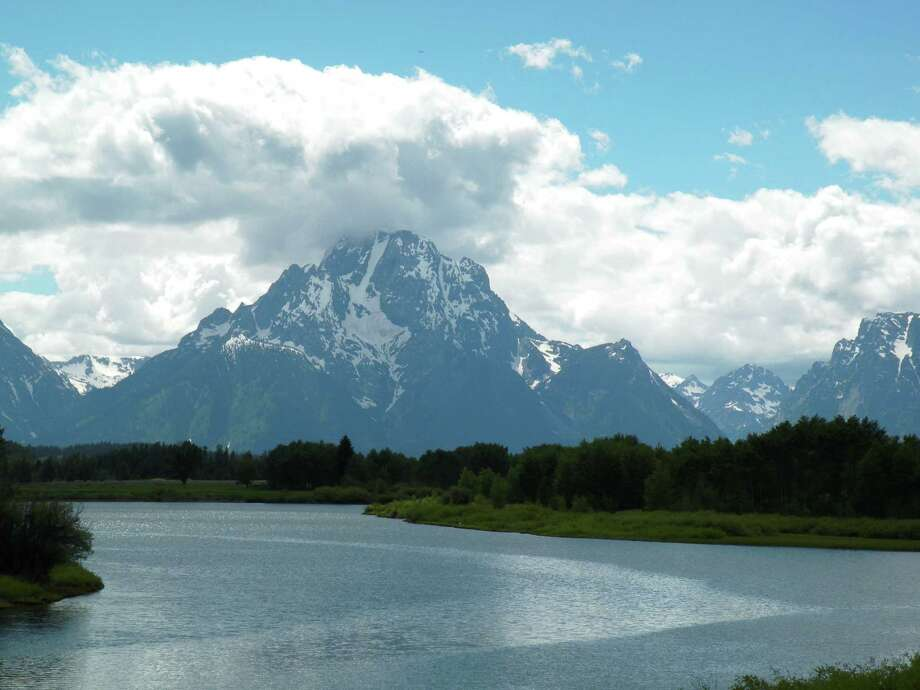Virginia Madore of Troy is well-traveled. Here are photos of the Grand Tetons at the Ox Bow Bend from June 24, 2018.