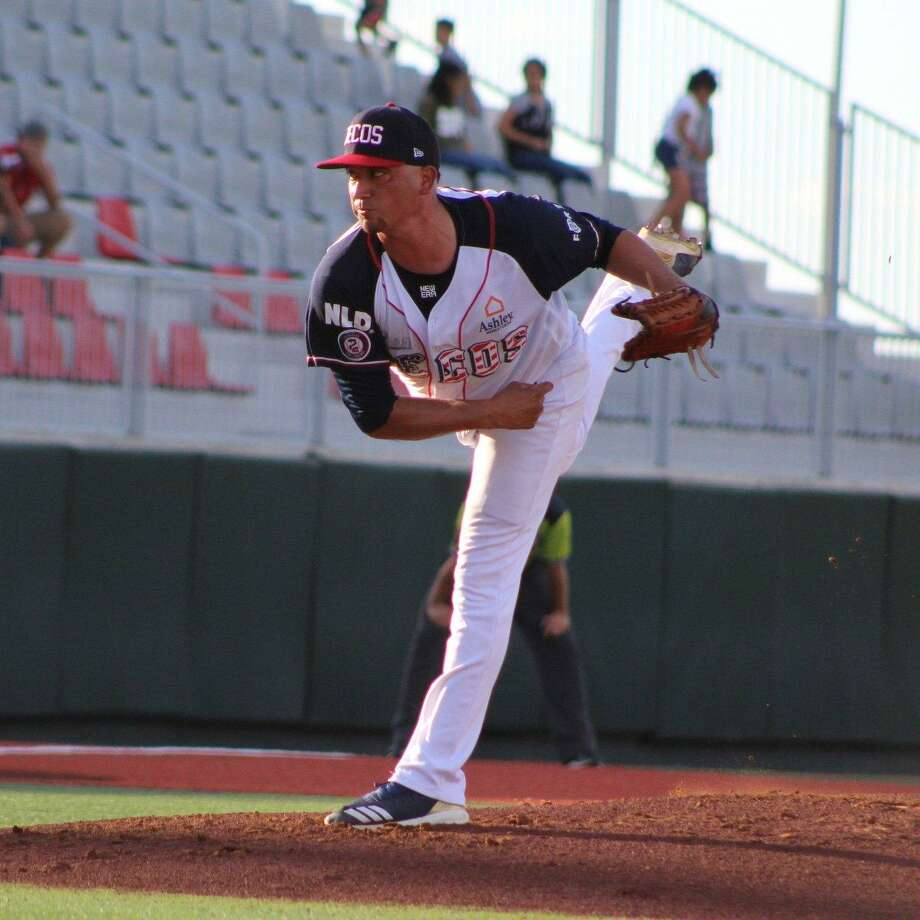 Jose Oyervides recorded his first victory of the season as the Tecolotes won 8-3 over Union Laguna Wednesday night. Photo: Courtesy Of The Tecolotes Dos Laredos