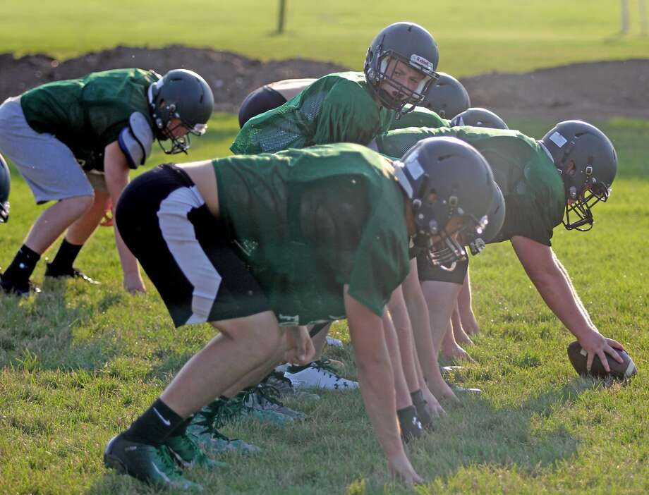 Elkton-Pigeon-Bay Port football practice 2018 Photo: Mike Gallagher/Huron Daily Tribune