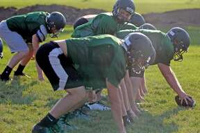 Elkton-Pigeon-Bay Port football practice 2018