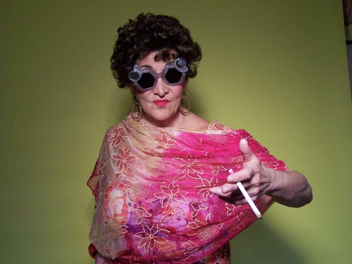"Judy Rosenblatt in ""Woman Before a Glass."""