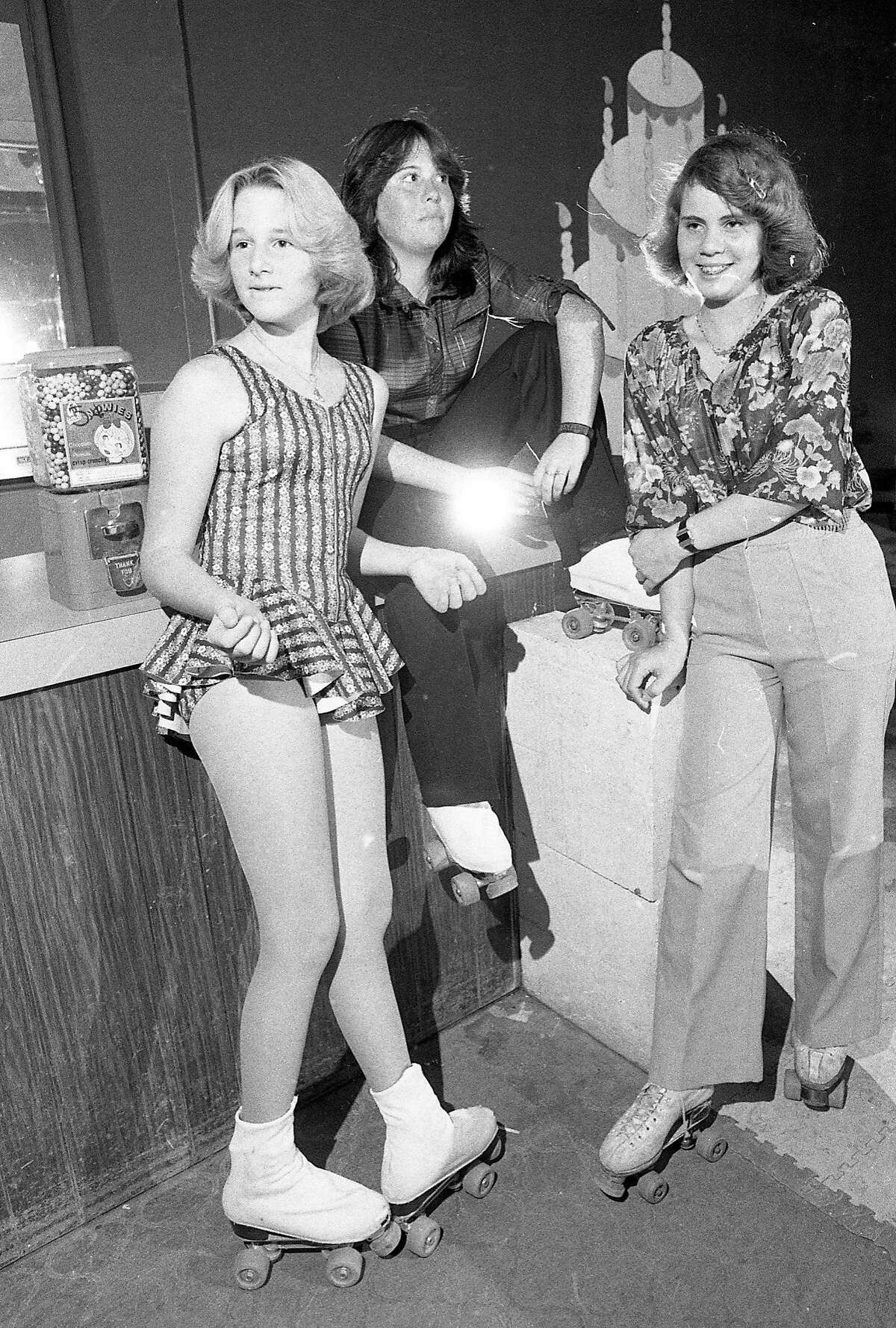 Aug. 30, 1979: Scene from the disco roller night at the Grand Arena Roller Rink in South San Francisco.