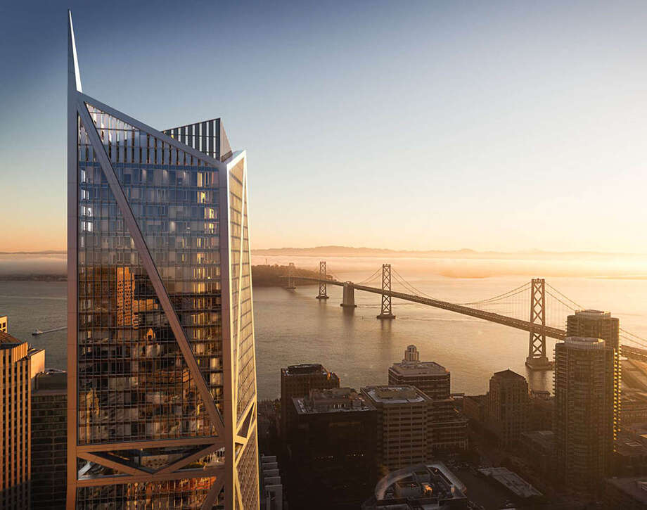 The tallest, most luxurious, and most expensive units in SF. Note the condo photos in this gallery are not of the actual record-breaking penthouse, but of the typical condo in the luxury tower Photo: 181 Fremont.com