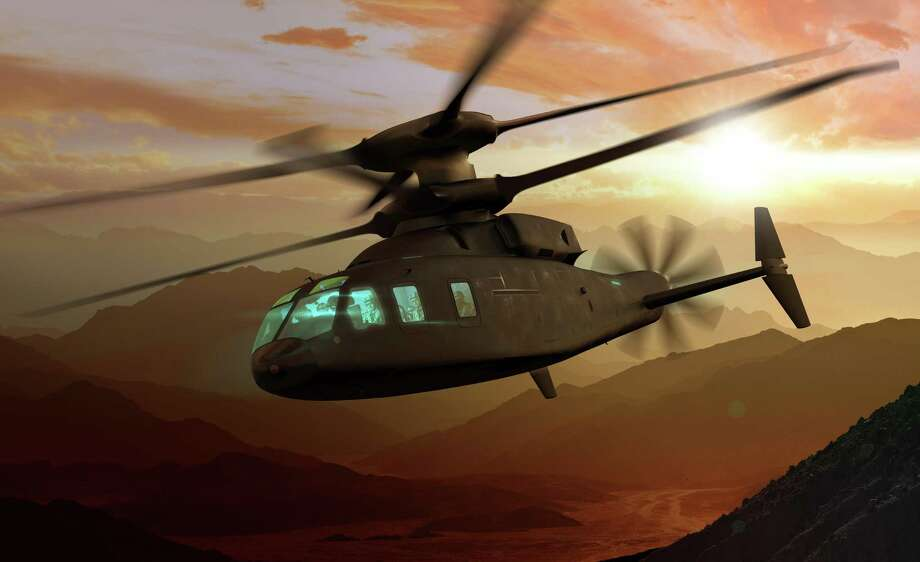 A rendering of the Sikorsky-Boeing SB>1 Defiant, which Sikorsky confirmed in August 2018 has been designated the S-100 in a formal filing with the Federal Aviation Administration. Photo: Getty Images/Moment RF / Moment RF