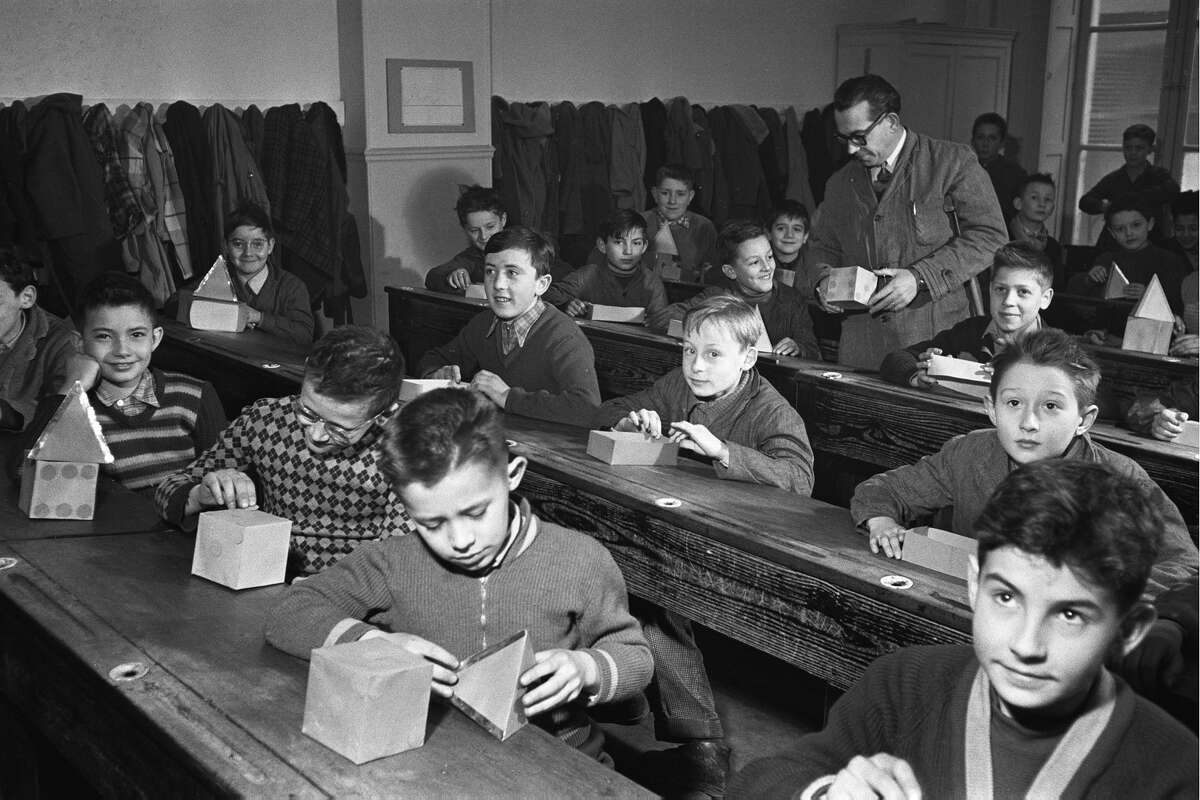Back To School In 1956