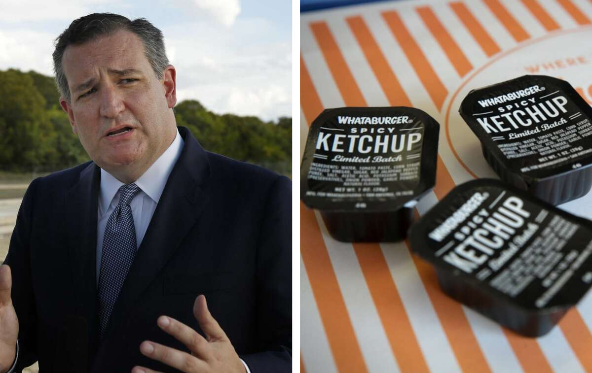 On Thursday, Ted Cruz's campaign issued a statement to the Star-Telegram concerning the likeness of Beto O'Rourke's campaign logo and Whataburger's spicy ketchup.