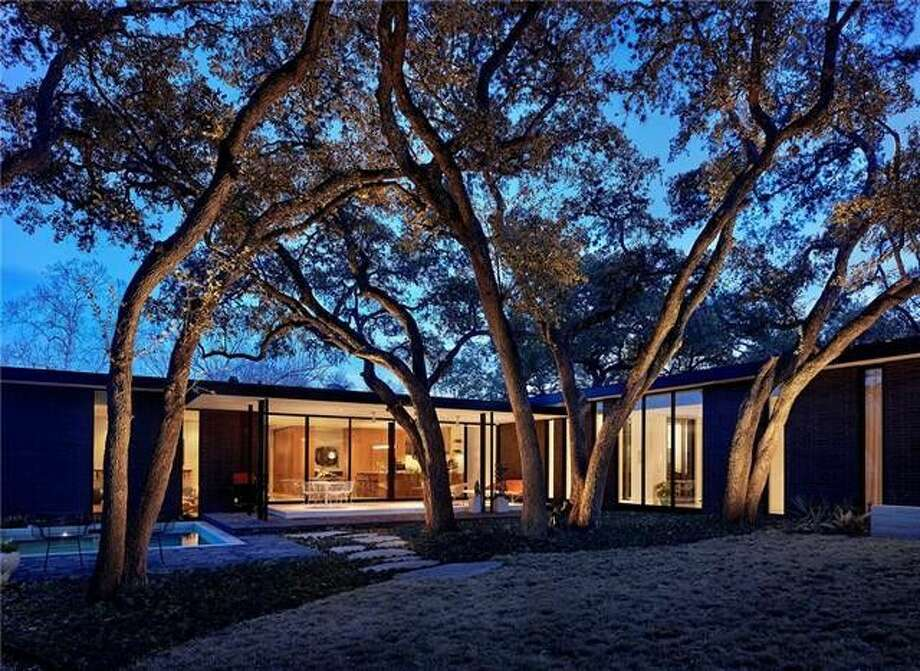 Recently featured in Architectural Digest and Texas Monthly, this reimagined mid-century inspired modern home is located in the heart of Zilker Park/Barton Hills. See more at Realtor.com. Photo: REALTOR.com