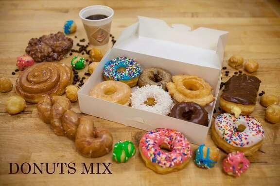 Donut Mix box from Southern Maid Donuts