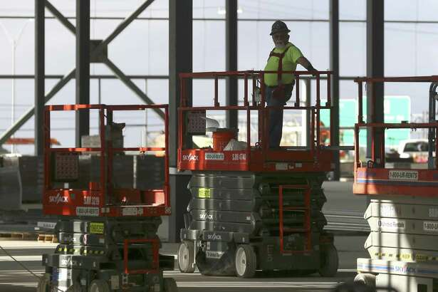 Construction added 4,500 jobs over the month. It grew at 6.4 percent over the year, second fastest among major industries in Texas. Its annual growth has stayed positive since September 2011.
