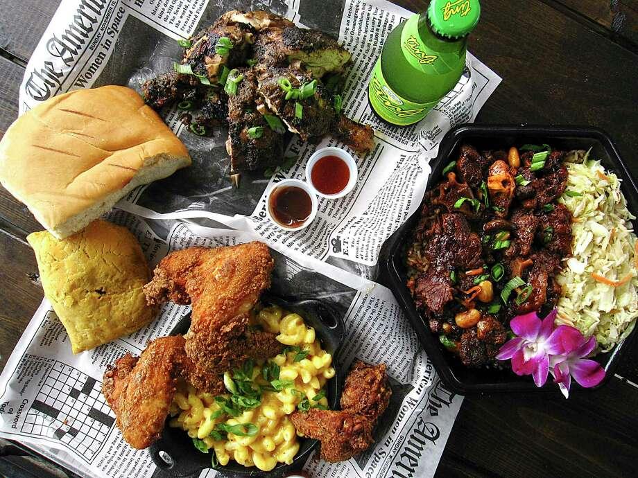 The Jamaican restaurant The Jerk Shack has made GQ magazine's list of Best New Restaurants. Photo: Mike Sutter /Staff File Photo