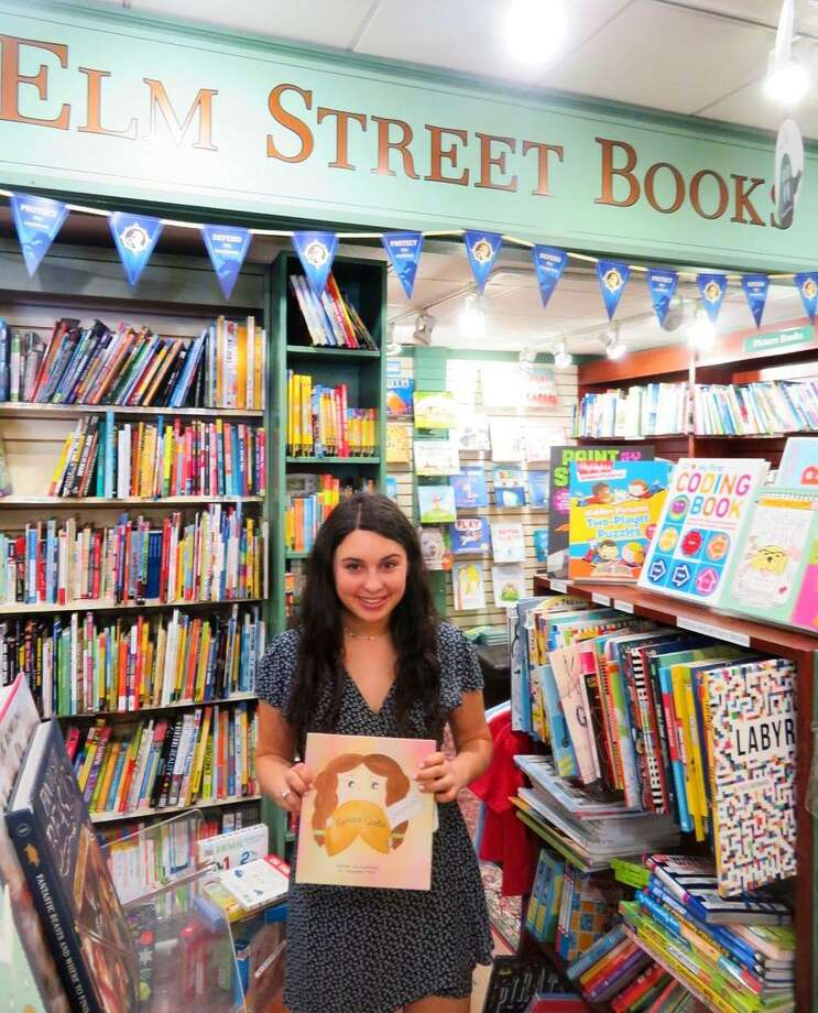 "Jacqueline Prata, a 16-year-old rising junior at Sacred Heart Greenwich, will do a reading of her children's book, ""Fortune Cookie Surprise!"" from 1 to 2:30 p.m. Saturday at Womrath Books, 76 Pondfield Road, Bronxville, N.Y. The book is the story of a young girl, Emily, and her realization that just as a fortune cookie completes a meal, she completes her family. Photo: Contributed Photo / Contributed / Greenwich Time Contributed"