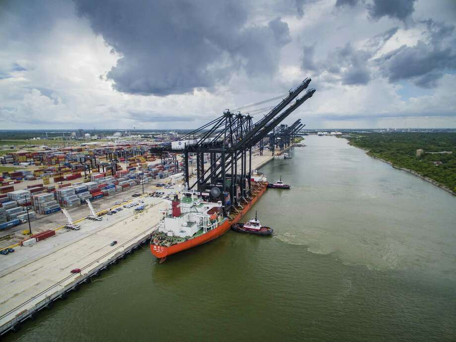Export activity will likely slow down in Houston during the second half of the year, the Federal Reserve Bank of Texas reports.  >>Now see how other states' economies rank ...