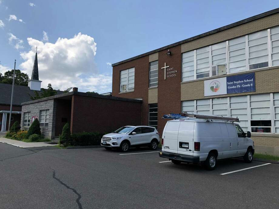 The former St. Stephen School, as seen Thursday on Ridge Road in Hamden. ACES is set to rent the building and christen it Mill Road Elementary. Photo: Ben Lambert / Hearst Connecticut Media