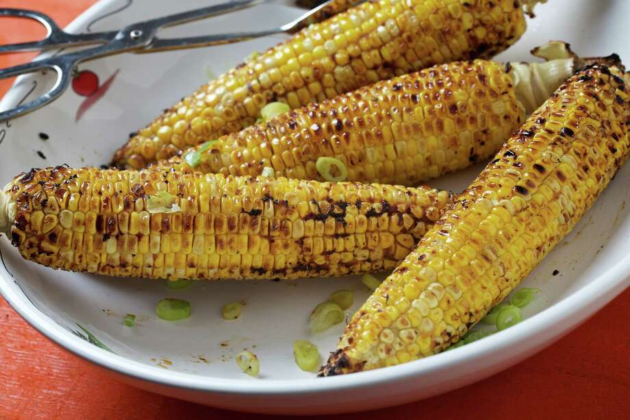 Grilled Corn With Miso Honey Butter. Photo: Photo By Deb Lindsey For The Washington Post. / For the Washington Post
