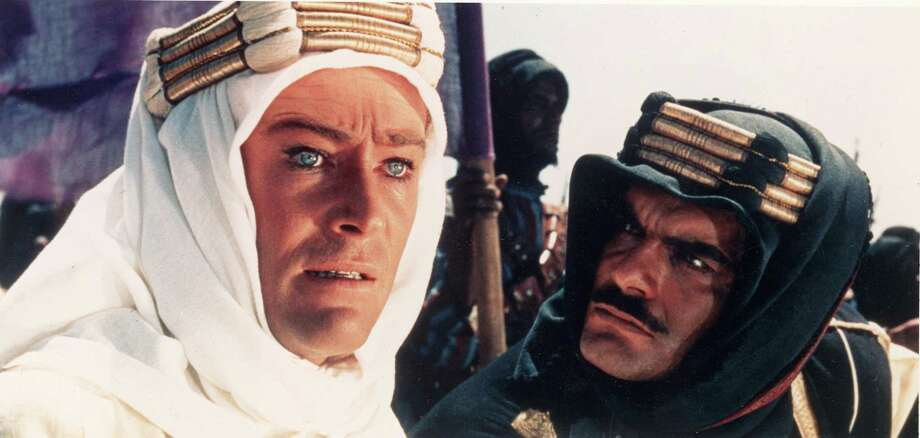 "Peter O'Toole (left) and Omar Sharif star in ""Lawrence of Arabia."" Photo: Columbia Pictures 1962 / Connecticut Post Contributed"