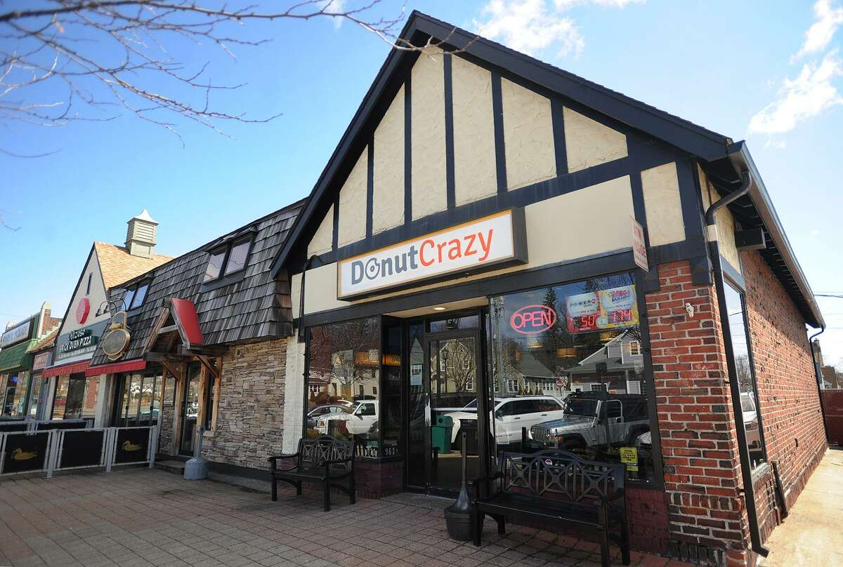 The current Donut Crazy location at 3690 Main Street in Stratford, Conn. on Wednesday, March 29, 2017. The business will be moving to a new location down the street to a former gas station later this year.