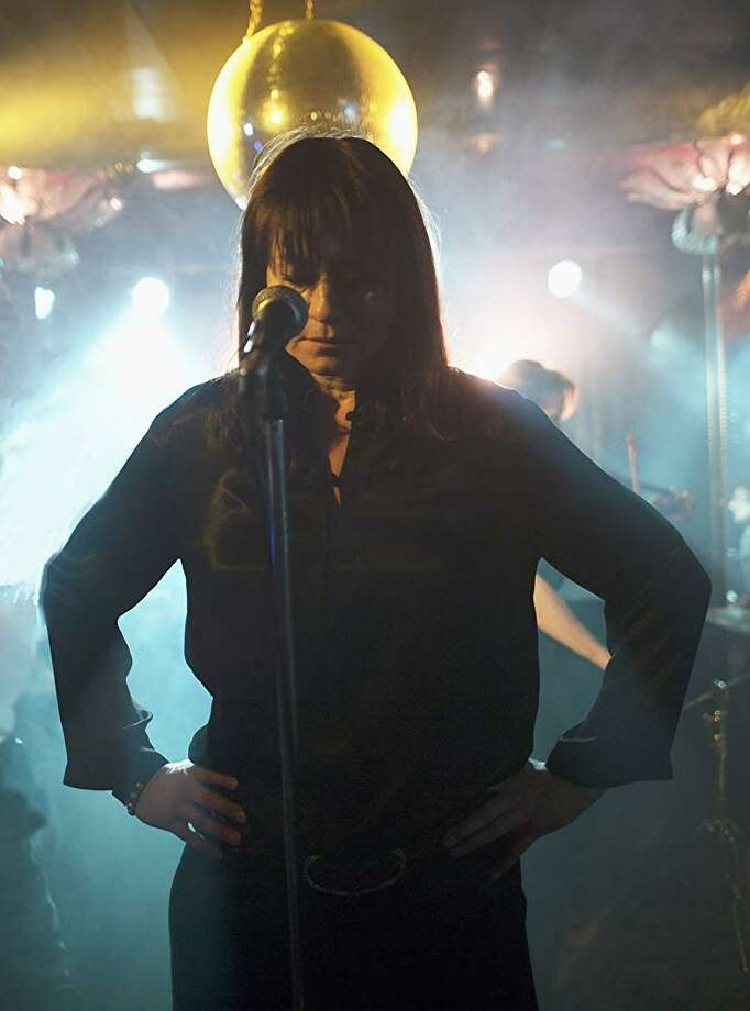"Trine Dyrholm's complex portrayal of Nico, the former Velvet Underground singer, gives Susanna Nicchiarelli's ""Nico, 1988"" its soul. She's particularly effective in the concert scenes. Photo: Magnolia Pictures"