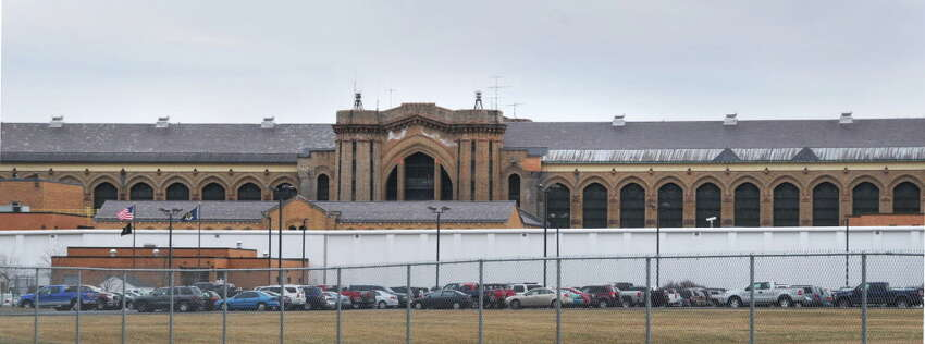 Exterior of Great Meadow Correctional Facility maximum-security lockup in Washington County Thursday March 25, 2010.
