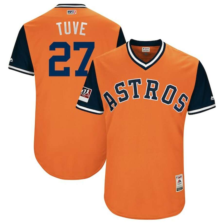 new style 2ae7c f94b9 Astros players pick nicknames for Players' Weekend jerseys ...