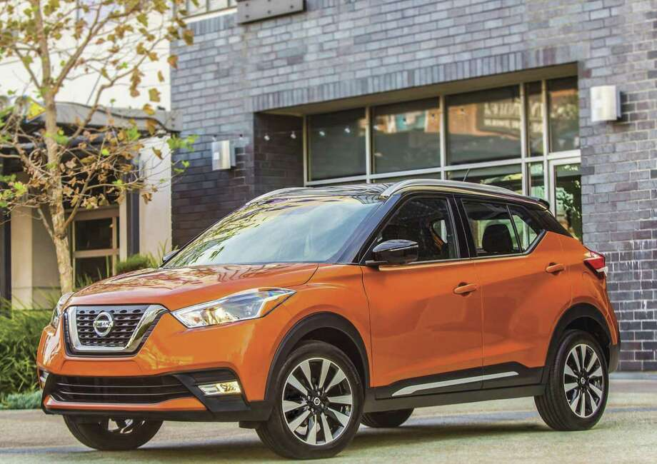Not only is the five-passenger Kicks a compelling choice among the new crop of small crossovers, it's also a great bargain with its starting price of $17,990 (plus $975 freight) for the base S model with lots of standard equipment, including automatic emergency braking. (Nissan photo)