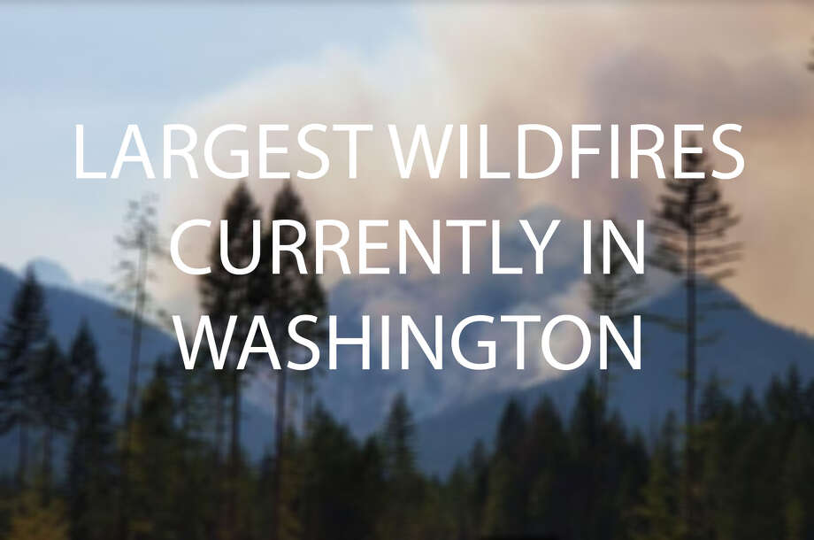 The Maple fire is the largest wildfire in Western Washington, but five fires east of the Cascades are just as, if not bigger. Photo: Inciweb