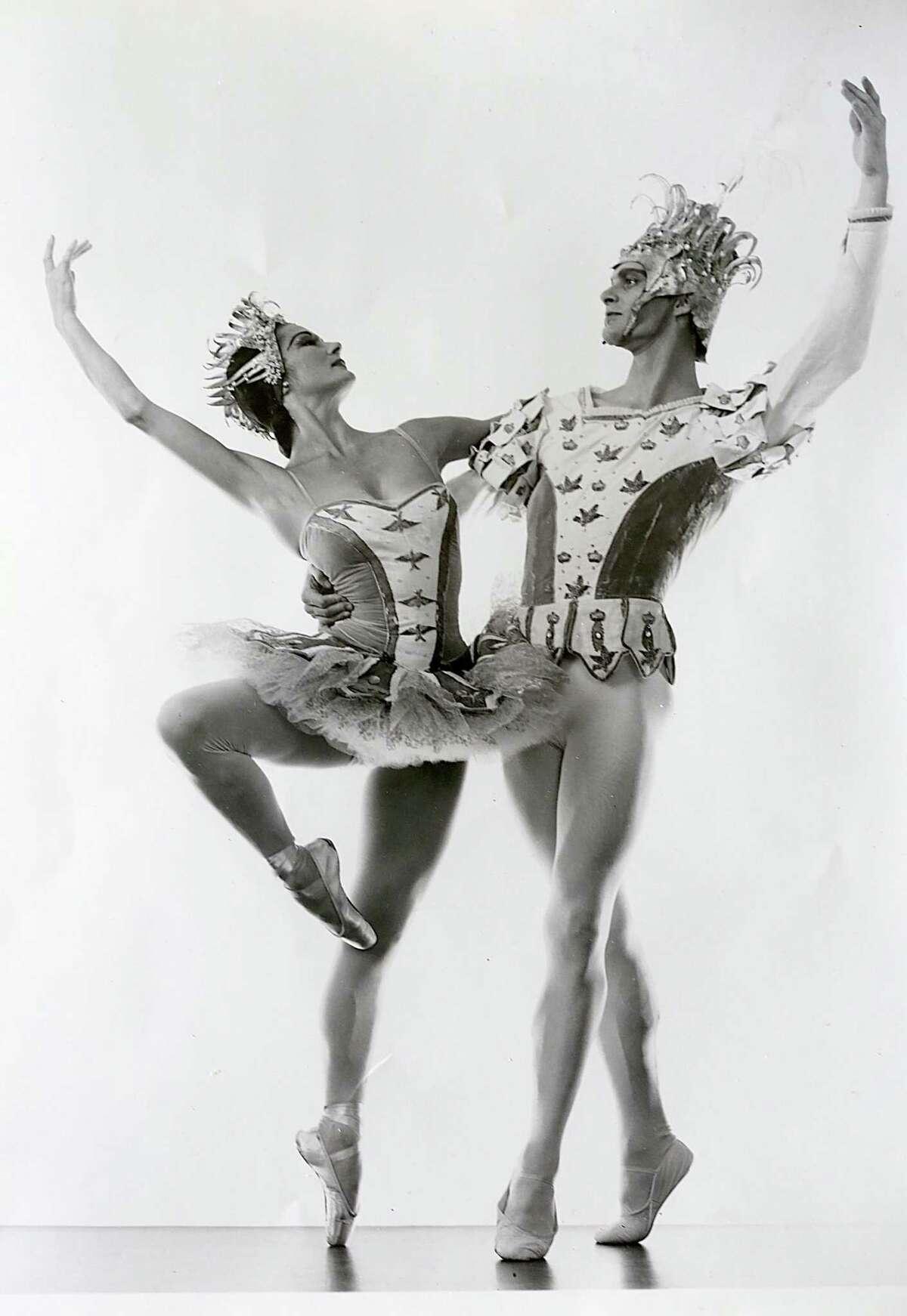 San Francisco ballerina and renowned dance teacher Jocelyn Vollmar with Richard Carter in the San Francisco Ballet's 1958