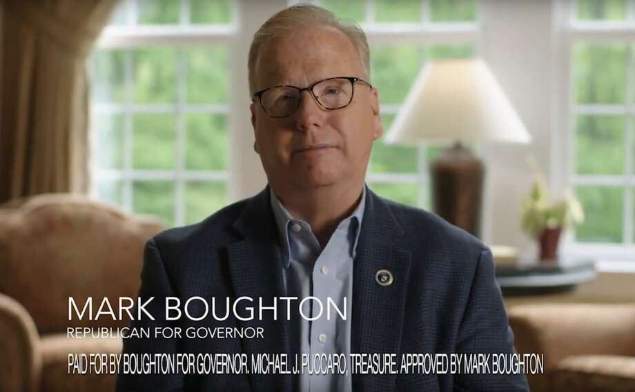 In his first television commercial of the governor's race, Republican Mark Boughton focused on his recent health scare. Photo: Contributed Photo / Contributed Photo / Connecticut Post Contributed
