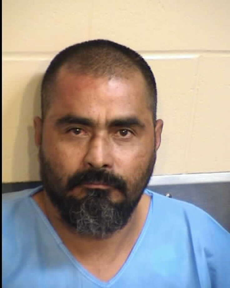 Fresno authorities arrested Efrain Martinez, 44, of Parlier, after he attempted to evade police by rolling his car into the San Joaquin River and stealing a canoe. Photo: Fresno County Sheriff's Department
