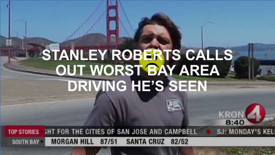 KRON-4's Stanley Roberts has seen a lot in his time with the television station. Check out his greatest hits by clicking ahead. >>> Photo: KRON-4