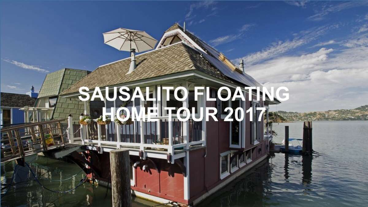 Check out the homes on the 2017 Floating Homes Tour in Sausalito.