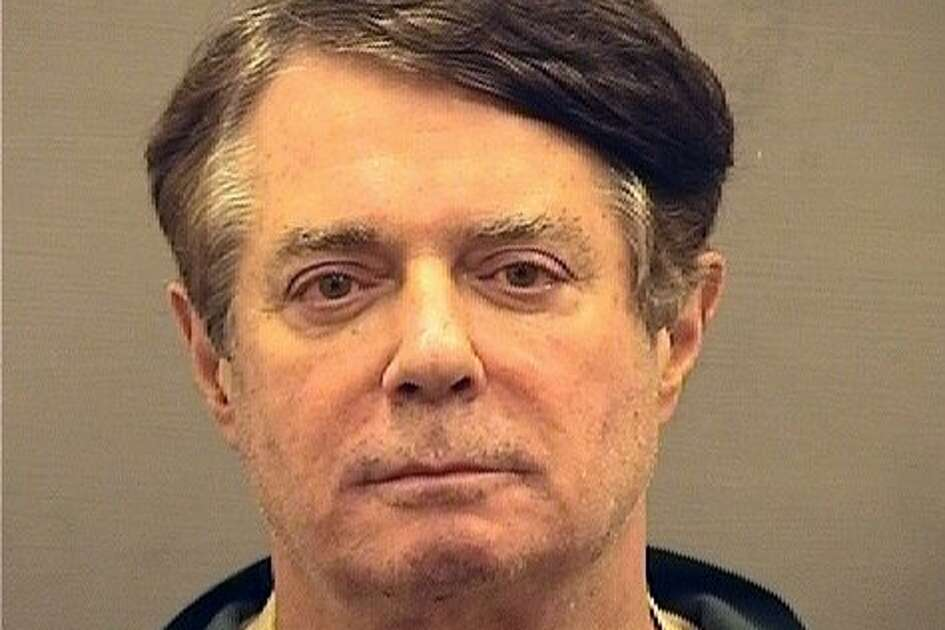"""On Thursday, July 12, 2018, Paul Manafort was booked into the Alexandria Detention Center, formally known as the William G. Truesdale Adult Detention Center. According to Sheriff Dana Lawhorne, """"Mr. Manafort's arrival and booking process were routine."""" In an undated photo provided by law enforcement, Paul Manafort, President Donald Trump's former campaign chairman. Jury selection began in Manafort's bank and tax fraud trial on July 31, 2018. He is the first American charged in Robert Mueller's inquiry."""