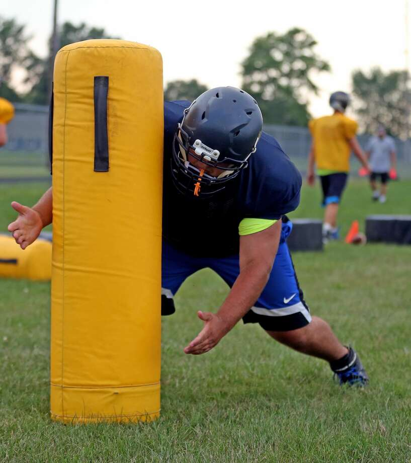 North Huron Football Practice 2018 Photo: Paul P. Adams/Huron Daily Tribune