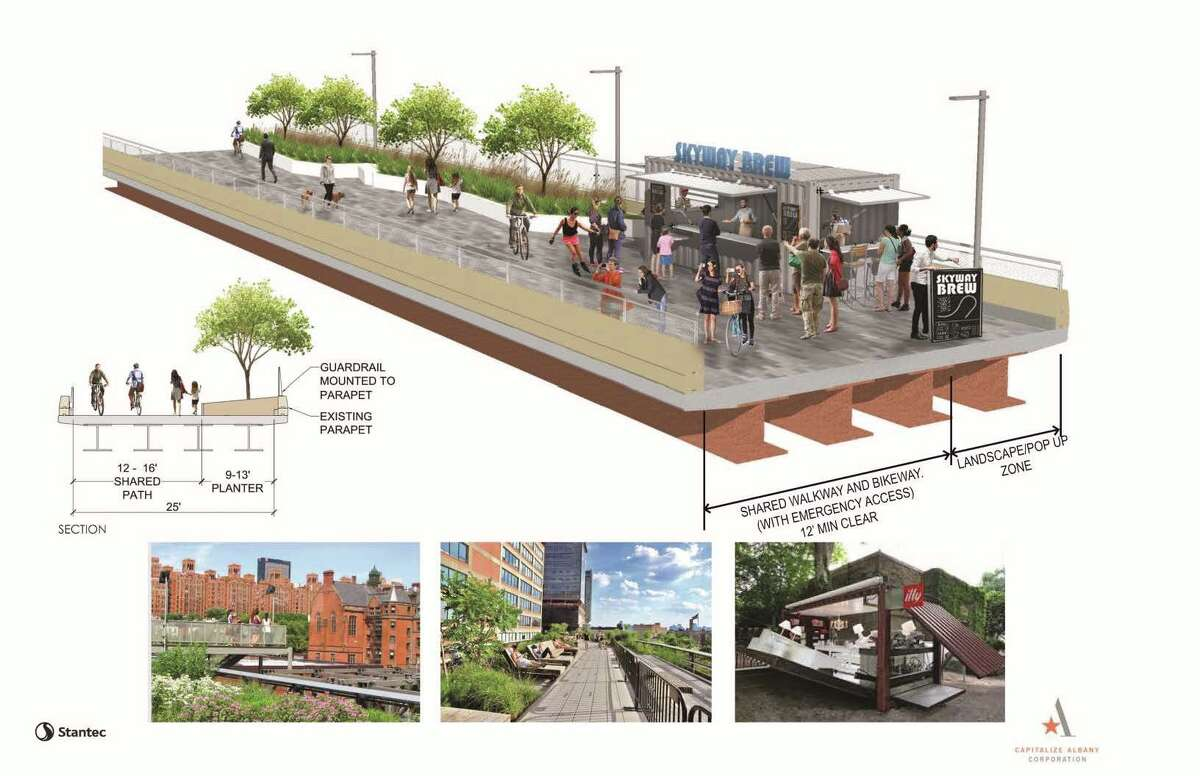 Final design of the Albany Skyway was presented to the publicThursday, Aug. 9, 2018 at the Palace Theatre in Albany. (Courtesy photo)
