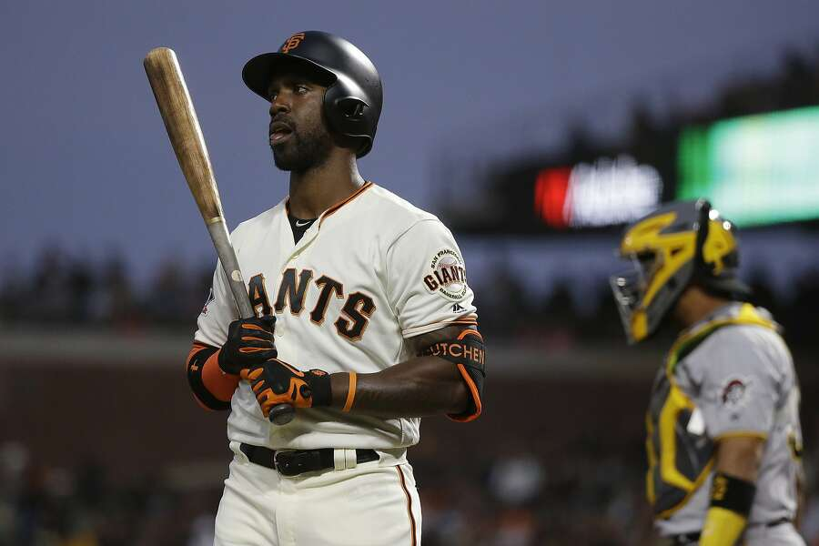 the latest 0260f 31ef1 Andrew McCutchen's absence from Giants' lineup fuels trade ...