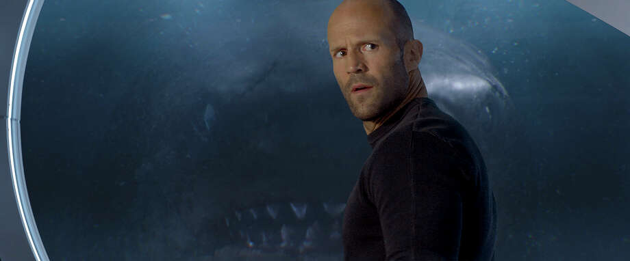 "This image released by Warner Bros. Entertainment shows Jason Statham in a scene from the film, ""The Meg."" (Warner Bros. Entertainment via AP) / Warner Bros. Entertainment"