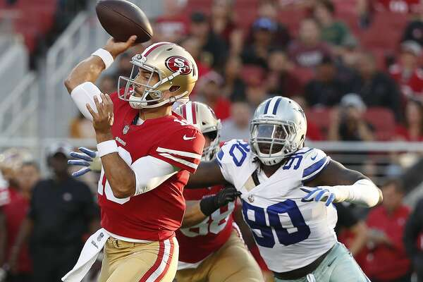 ad0fbe8eaf7 49ers save savior Jimmy Garoppolo for when it matters most ...