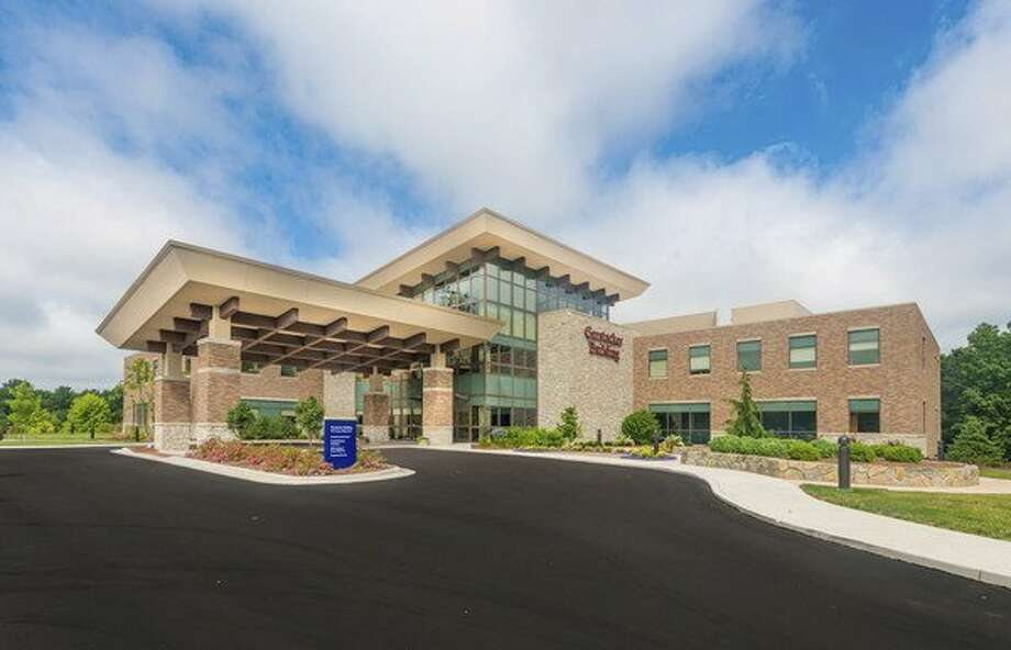 The 70,500-square-foot, three-story Gerstacker Building on the campus of MidMichigan Medical Center-Midland is MidMichigan Health's first Leadership in Energy and Environmental Design (LEED) certified building. (Photo provided) / SNWEB.ORG Photography