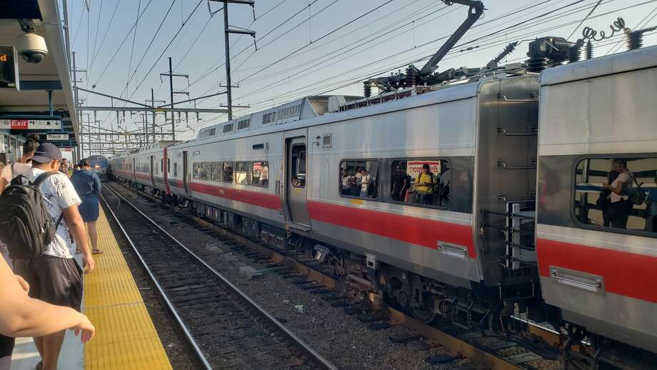 Police activity in Southport, Conn., causes delays on Metro-North on Friday, Aug. 10, 2018. Photo: Photo Courtesy Of Michael McVehil
