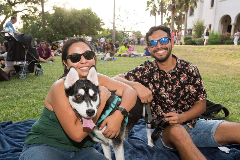 People brought out their family, friends and even pets to enjoy a free night at the McNay for it's Second Thursday event. The evening was accompanied with live music by Selena cover band Bidi Bidi Banda. Photo: Aiessa Ammeter
