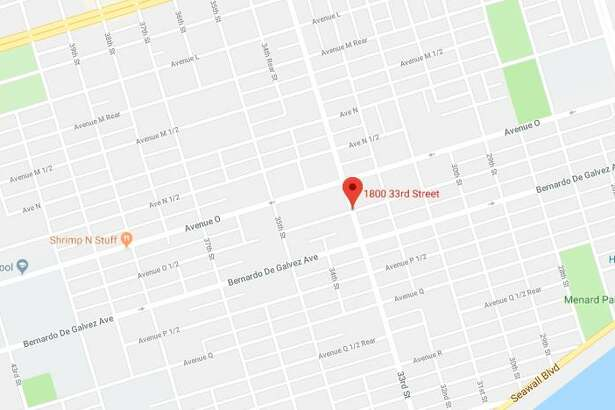 A woman was stabbed in the 1800 block of 33rd Street in Galveston on Sunday, Aug. 5, 2018.