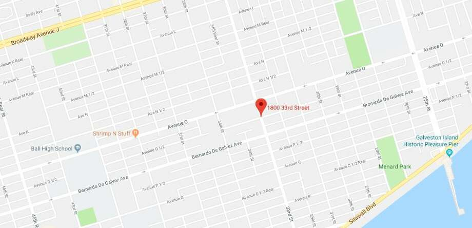 A woman was stabbed in the 1800 block of 33rd Street in Galveston on Sunday, Aug. 5, 2018. Photo: Google Maps
