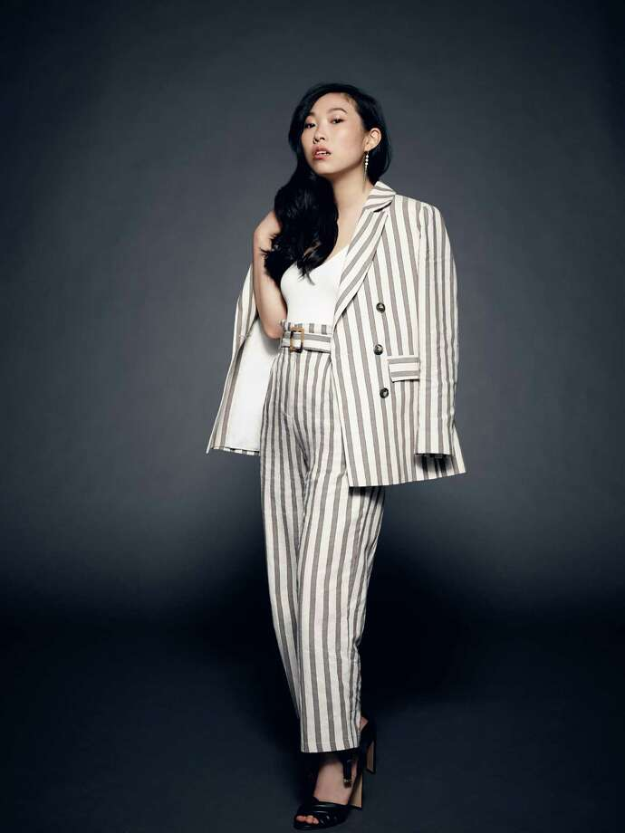 Actor-rapper-comedian Awkwafina. Photo: Art Strieber-Courtesy Warner Bros. Pictures / The Washington Post